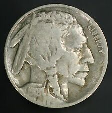 1918-D Buffalo Nickel Strong F-VF With All Original Surfaces! GC423