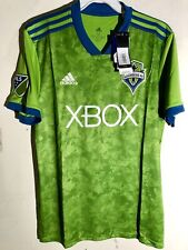 Adidas MLS Jersey Seattle Sounders Team Green sz 2XL