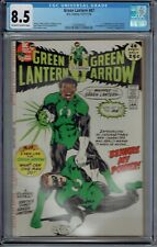 CGC 8.5 GREEN LANTERN #87 1ST APPEARANCE OF JOHN STEWART OW/W PAGES 1971