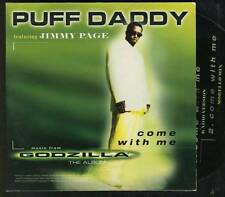 PUFF DADDY FT JIMMY PAGE Come With Me CARD slv CD SINGLE led zeppelin