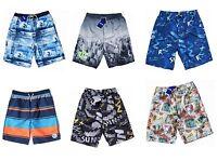 Quality Boys Mens Long Board Knee Length Swim Shorts Swim Trunks  9 - 18 Years