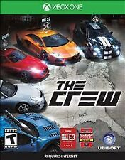 THE CREW XBOX ONE NEW! CAR RACING, NEED FOR SPEED RACE, DIRT, CIRCUIT, STREET