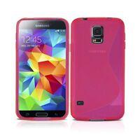 Samsung Galaxy S5 Mini G800 S Line Gel de silicona cubierta caja y