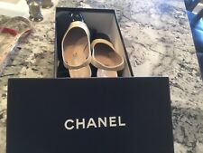Chanel patent leather classic pumps heels shoes 36 original box and dust bags