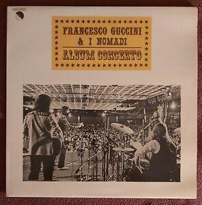 Francesco Guccini & I Nomadi _ in Concerto - Vinile 33 giri - 1979 Emi