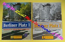 book libro BERLINER PLATZ 1 Intensivtrainer 2002 LONGENSCHEIDT tedesco (LG1)