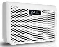 Pure One Midi S3 Portable Digital DAB/DAB+ and FM Radio with Alarm - White