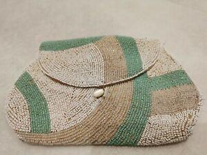 Antique Belgian Beaded Evening Bag/Purse Hand Made