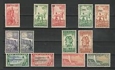 New Zealand: Little group set semi-postal, mint, hinged. EBNZ011