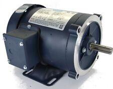 Leeson 116747 AC motor 2 HP 3 PH 230/460V 1800 RPM 56C frame w/base C6T17FK97C