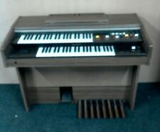 More details for yamaha electone organ b-4cr 1970s wood effect electric keyboard piano cis w77