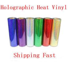 2m T-shirt Holographic Heat Transfer Vinyl Choose From 6 COLORS Laser Vinyl