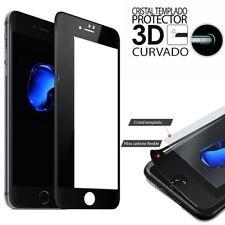 """CRISTAL TEMPLADO CURVO PROTECTOR DE PANTALLA PARA IPHONE 8 PLUS 5.5"""" NEGRO"""