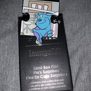 Loungefly Disney Pixar Monsters Inc Puzzle Pin Blind Box - James P Sulley