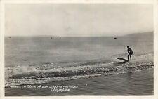 Nautical sport Cote d`Azur surfing photo postcard