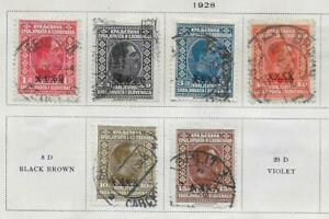6 Yugoslavia Stamps from Quality Old Antique Album 1928