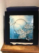 Swarovski Figurine Wonders of the Sea Harmony Clear 20 Cm. with Box