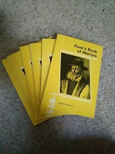 Foxe's Book Of Martyrs Small Booklet