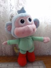 """Baby Boots Plush 9"""" Fisher Price Dora the Explorer the Monkey Stuffed Toy 2013"""