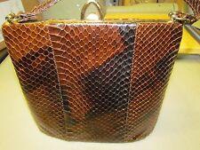 Vintage Genuine snake skin leather purse