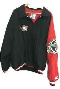 Capital City Bombers 1990's Starter Jacket USA Made Adult XXL MiLB EX Shape