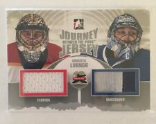 2011-12 Between The Pipes Roberto Luongo Jersey Patch Silver Version In The Game