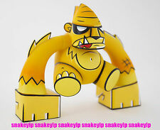 Joe Ledbetter Toy2R Swamp Yeti Smash Yellow Pyro Edition Vinyl LTD200 +Kidrobot