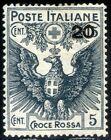 Regno d'Italia 1915/16 Pro Croce Rossa n. 104 ** (m2927)