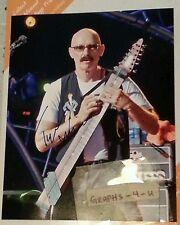 Tony Levin Signed Peter Gabriel Autograph King Crimson Stickmen COA a
