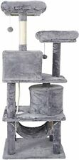 """Rest Sleep Cat Tree 57"""" Tower Activity Center Large Playing Condo Scratching"""