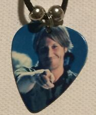 KEITH URBAN Guitar Pick Necklace Music Country Singer (A)
