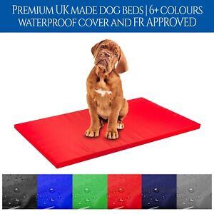 Dog Bed Waterproof Cushion Pet Mattress Heavy Duty Cover Indoor Outdoor Comfort