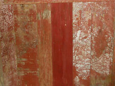 Reclaimed Barnwood - Lumber, Wood, Board, Siding, Paneling - Milled - Red