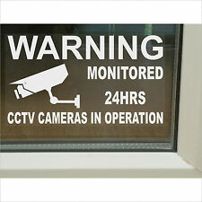 1 x Large CCTV Camera Security Warning Window Sticker-150mm