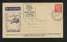 New  Zealand  helicopter flight cover  1955            MS1114