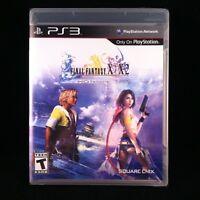Final Fantasy X / X-2 HD Remaster Standard Edition  (Sony Playstation 3, 2013)