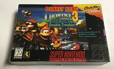 DONKEY KONG COUNTRY 3 DIXIE SUPER NINTENDO SNES Brand NEW Factory SEALED Rare
