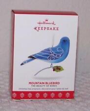 2017 Hallmark Ornament - Beauty of Birds - Mountain Bluebird - 13th in Series
