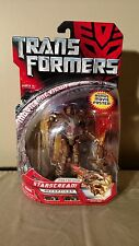 Transformers Movie 2007 Deluxe Class Protoform Starscream with Poster MISB