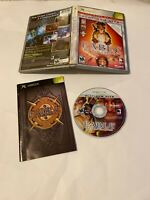 Fable The Lost Chapters Platinum Hits (Microsoft Xbox, 2005) COMPLETE MATURE