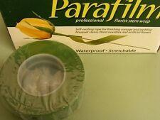 Parafilm Florist Tape Green  2 rolls