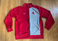 St. Louis Cardinals Nike Full Zip Dri-Fit Cooperstown Coolection Size M EUC