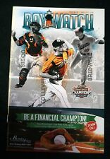 2016 Issue 05, May 27  - June 5, Bowie Bay Sox Bay Watch Game Program