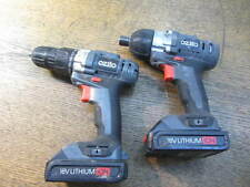 Ozito 18V Li Cordless Drill Set