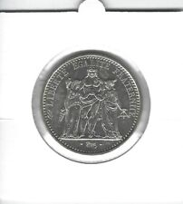 FRANCE 10 Francs Argent Hercule 1969 Silver coin