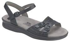 SAS Duo Sandal Black 7.5 Slim, Women's Shoes