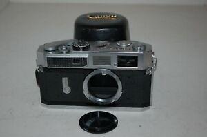 Canon-7 Vintage 1965 Japanese Rangefinder Camera. Serviced. No.854420. UK Sale