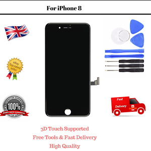LCD iPhone 8 Black Screen Touch Replacement Assembly Dispaly Digitizer and Tools