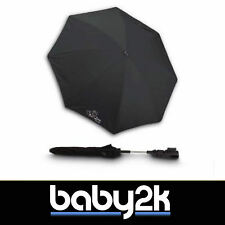Jane Universal Anti UVA UV Sun Parasol Umbrella Summer Cover Black Noir BN