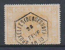 Belgium - 1879/82, 80c Railway Parcel Post - G/U - SG P67